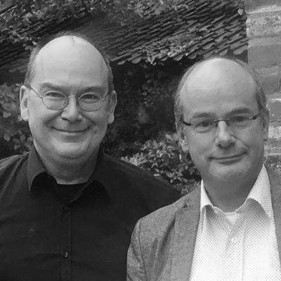 Eric Schlangen and Dolf Becx